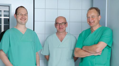 Dr. Jens Flottemesch, Dr. Franz Ertl, Dr. Hans Fünfgelder