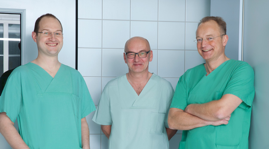 Team Fast Recovery Dr. Jens Flottemesch, Dr. Franz Ertl, Dr. Hans Fuenfgelder