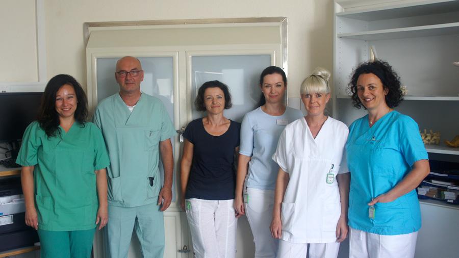 Praxisteam Praxis Dr. Franz Ertl, in der Klinik am Heinrichsdamm, Bamberg
