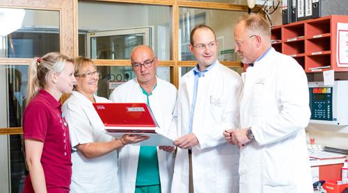 Team Fast Recovery: Dr. Jens Flottemesch, Dr. Franz Ertl, Dr. Hans Fuenfgelder